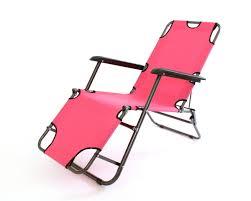 new outdoor foldable garden sun loungers pair camping reclining