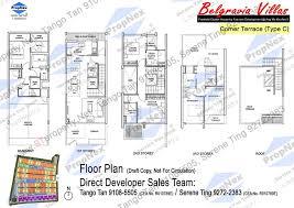 cluster house plans belgravia villas floor plan belgravia villas ang mo kio