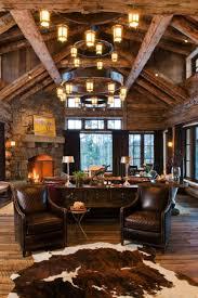 rustic elegance re defined in a big sky mountain retreat