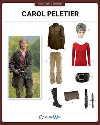 Walking Dead Costumes Halloween Dress Carol Peletier Costume Halloween Cosplay Guides