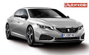 peugeot 508 interior second generation 2017 peugeot 508 rendering