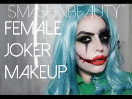 Womens Joker Halloween Costume Squad Female Joker Halloween Makeup Tutorial 2017
