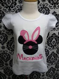 easter minnie mouse easter bunny ears shirt