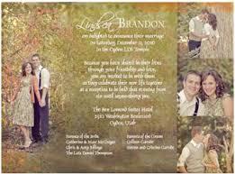 wedding announcement ideas lds wedding invitations marialonghi