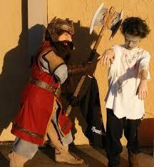 Lord Rings Halloween Costume Gimli Dwarf Lord Rings Halloween Costume 13 Steps