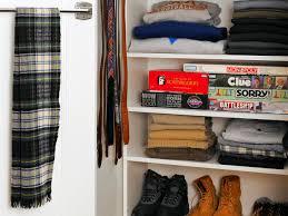 tackling storage in a teenage closet hgtv