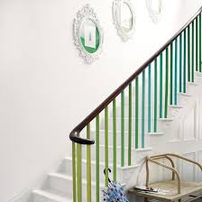 painted stairs ideal home