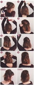 Trendige Hochsteckfrisurenen F Mittellange Haare by Trendige Frisur Für Mittellanges Haar Du Hast Die Haare Schön