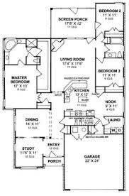 Split Floor Plan 655892 3 Bedroom 2 Bath Country Farmhouse With Split Floor Plan