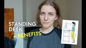 Benefit Of Standing Desk by Benefits Experience Of Using A Standing Desk Youtube