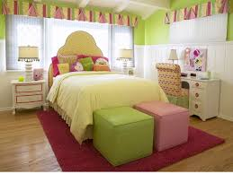 Girls Bedroom Design For Small Spaces Wonderful Pink And Green Bedroom Design Ideas In Small Space