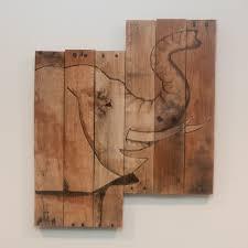 found on etsy elephants pinterest rustic wall art safari