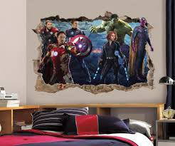 the avengers smashed wall decal removable graphic sticker the avengers smashed wall decal removable graphic sticker mural ebay
