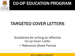 targeted cover letters ppt download