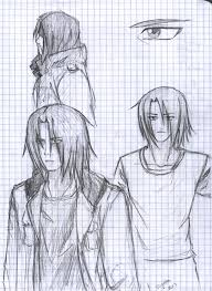 pencil sketches ryo by forgottendemonshadow on deviantart
