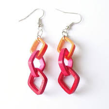 quiling earrings heart quilling paper quilling earrings rs 50 pair rashida