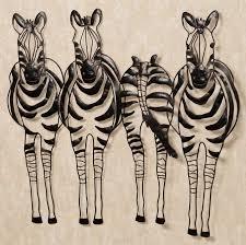 Safari Wall Murals 52 Zebra Wall Art Mounted Animal Heads Art Zebra Head Mount Wall