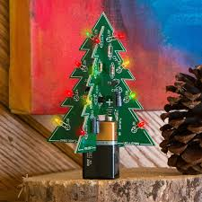 3d tree kit with some simple soldering steps