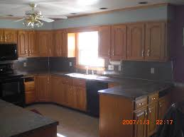 red oak cabinets gutshalls kitchens