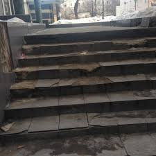 Death Stairs by I Almost Died On Broken Steps In The City Who Can I Yell At