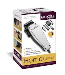 amazon com andis 19 piece at home haircutting kit silver model