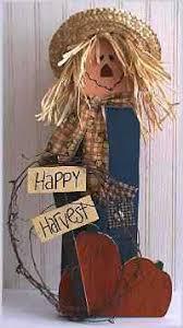 Halloween Wood Craft Patterns - sticks scarecrow pattern free tole painting pattern halloween