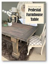 Farm Table Woodworking Plans by 436 Best Farmhouse Tables Images On Pinterest Kitchen Tables