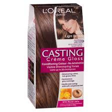 Light Brown Temporary Hair Color Spray Buy Casting Crème Gloss 600 Light Brown 1 Pack By L U0027oreal Paris