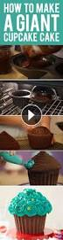 Baking And Cake Decorating How To Make A Giant Cupcake Cake Learn The Tips And Tricks Of