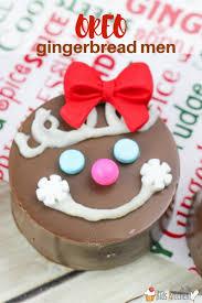 oreo gingerbread men cookies in the kids u0027 kitchen