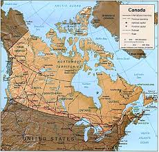 Map Canada by Relief Map Of Canada Canada Relief Map Canada City Map Canada