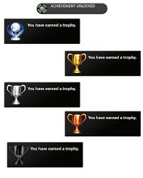 trophy and achievement png by kai1984 on deviantart
