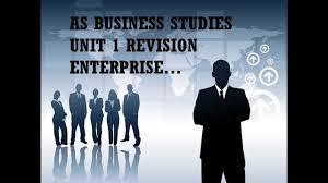 as business studies unit 1 revision enterprise youtube