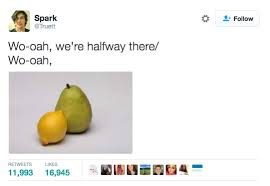 Halfway There Meme - the 16 funniest whoa we re halfway there tweets