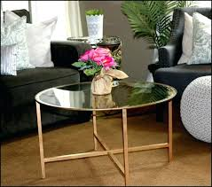 gold side table ikea ikea isala coffee table round glass coffee table used home office