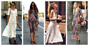 boho fashion boho style chic with vintage charm