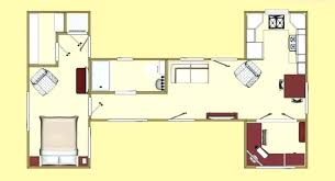 cargo container homes floor plans single container homes design one bedroom one bath shipping