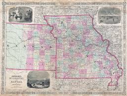 Map Of Missouri State by Will 2014 Be The Year To End The Kansas Missouri Border War Kcur