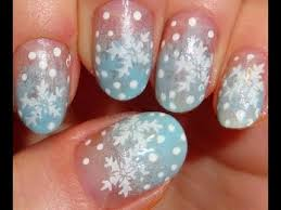 christmas nail art ideas 2013 cute winter nails youtube