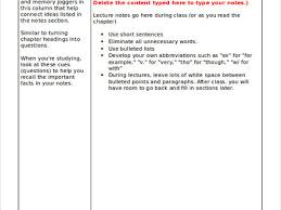 class notes template faceboul com