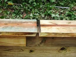 building a timber retaining wall how tos diy
