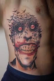 joker tattoo video dark joker face tattoo design on foot tattoo design ideas
