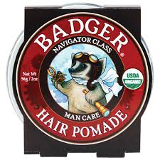 Pomade Air badger company organic hair pomade navigator class care 2 oz