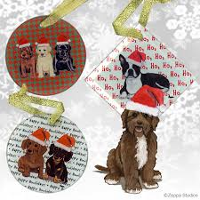 portuguese water dog christmas ornaments