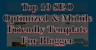 blog ke liye top 10 seo optimized u0026 mobile friendly templates free