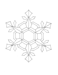 printable snowflake coloring pages free printable snowflake