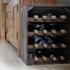 vintage wine gifts rustic wooden wine racks vintage apple crates