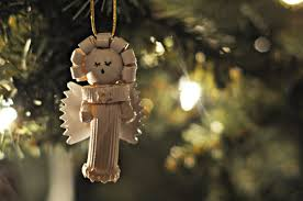 dried pasta angel ornament by jessica at craftily ever after