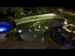 best submersible pond lights should i install under water lights in my koi pond youtube