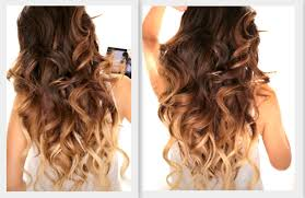big fat voluminous curls hairstyle how to soft curl ombre